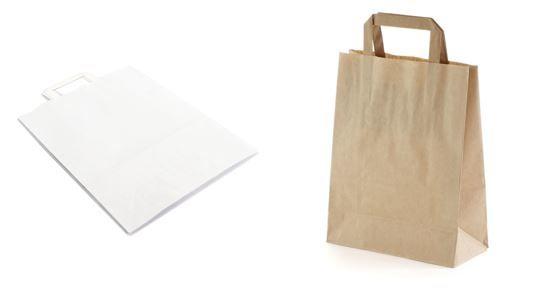 Papiertragetasche 220 x 100 x 360 mm