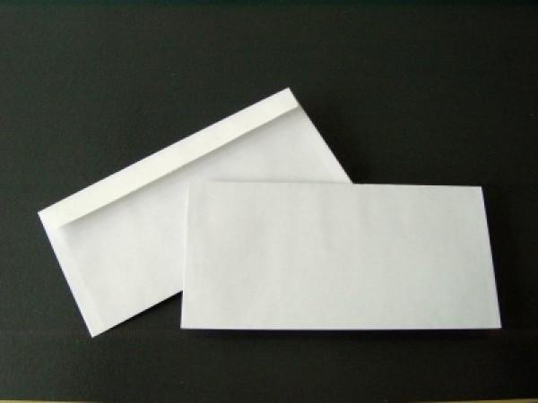 Briefumschlag 110 x 220 mm (DIN Lang) Abziehstreifen - 1000 Stück