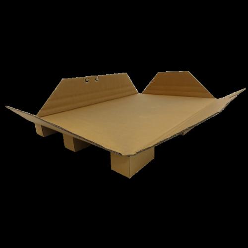 Kartonpalette mit Seitenschutz 1200 x 800 x 102mm