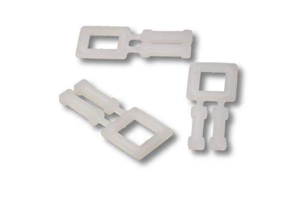 Kunststoffschnallen/-clips für PP Bänder bis 13 mm / 1000 Stück