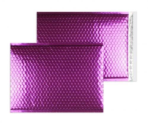 Luftpolstertaschen violett glänzend - 340 x 460 mm - 10 Stück