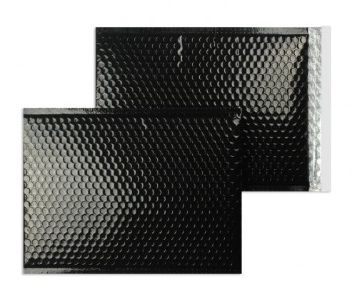 Luftpolstertaschen schwarz glänzend - 200 x 250 mm - 10 Stück