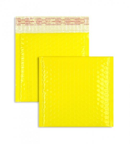 Luftpolstertaschen gelb glänzend - 170 x 185 mm - 10 Stück