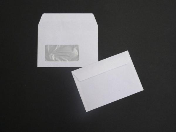 Briefumschlag 114 x 162 mm (DIN C6) Abziehstreifen - 1000 Stück