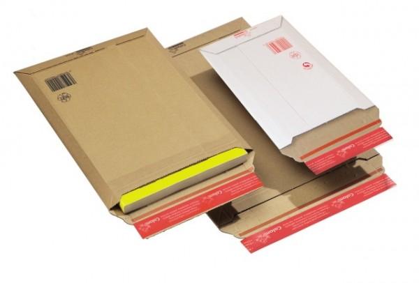 CP010.54 Versandtasche DIN A4+ WP WEISS Außenmaß 250 x 351 mm