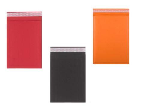 Papierpolstertaschen G-7 farbig / 260 x 350 mm