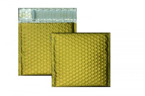 Luftpolstertaschen gold matt - 170 x 185 mm - 10 Stück
