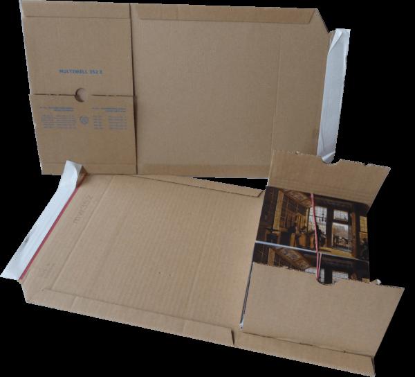 MW352e Buchverpackungen DIN A5 - 217*155*10-50 mm