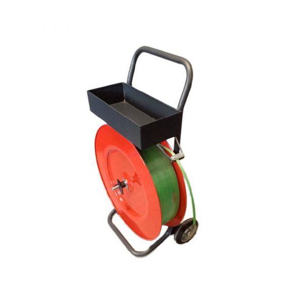 Abrolllwagen für Umreifungsband - manuell
