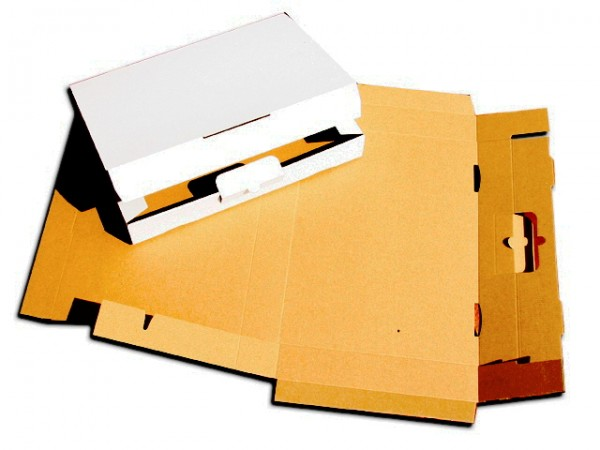 300 x 215 x 40 mm - Maxibrief weiß flachliegend
