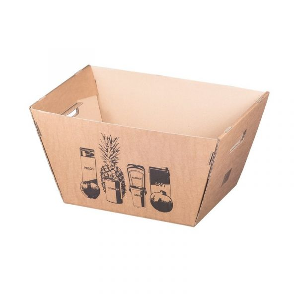 Lagerbox aus Wellpappe 500 x 330 x 260 mm