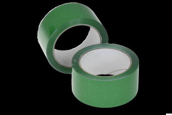 Klebeband 50 mm x 66 lfm. - PP grün | VE 36 Stück