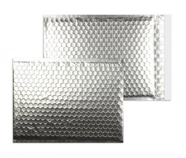 Luftpolstertaschen silber matt - 340 x 460 mm - 10 Stück