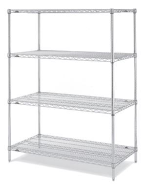 Super Erecta® Regalsystem 1066 x 457 x 1895 mm - mit Gitterfachboden