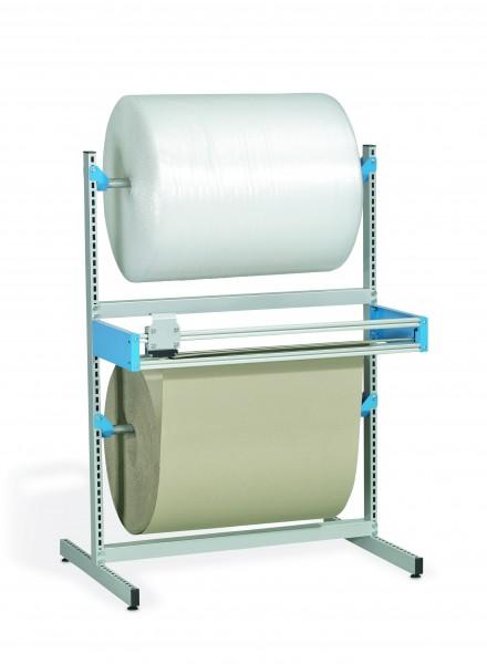 Doppel Schneidgerät stationär Breite 1500 mm mit einem Schneidrahmen