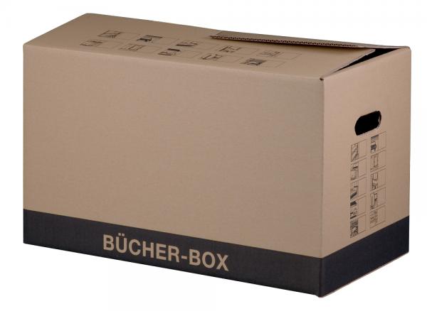 Faltkiste 560 x 293 x 330 mm BÜCHERBOX PLUS bis 30 kg