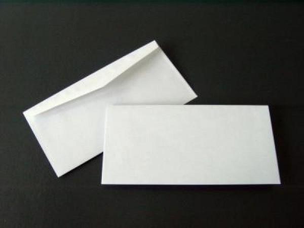 Briefumschlag 110 x 220 mm (DIN Lang) Nassklebung - 1000 Stück