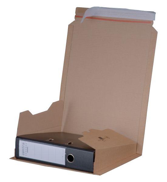 Ordnerverpackung braun DIN A 4 - Rückenhöhe bis 80 mm