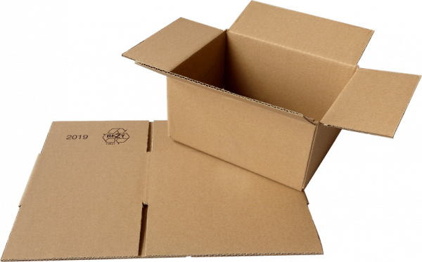 Faltkiste 200 x 150 x 100 mm - Hermes S-Paket/DHL-Päckchen