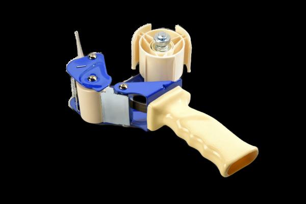 Handabroller für 75 mm Bänder - für PP und PVC - mit Bremse
