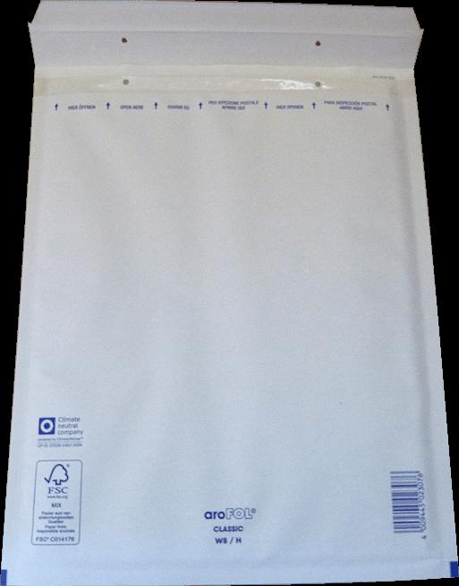 50 x F6 Luftpolstertaschen in braun Luftpolstertüten Versandtaschen 240x350 mm