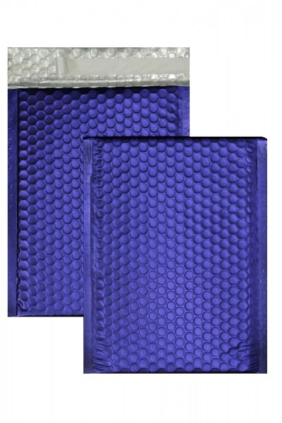 Luftpolstertaschen blau matt - 200 x 250 mm - 10 Stück
