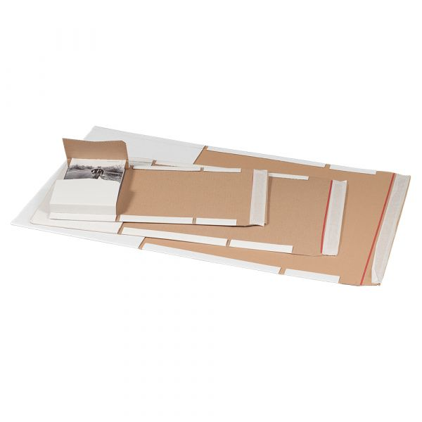 UV58 Universalverpackung DIN A4 weiß - 300x220x-80 mm