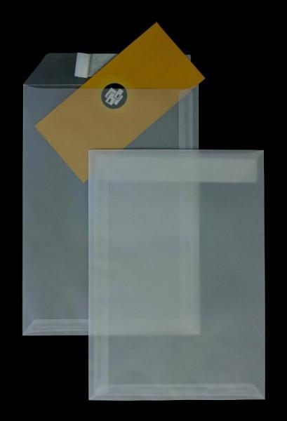 Transparente Briefumschläge im Format 229 x 324 mm DIN C4- 250 Stück