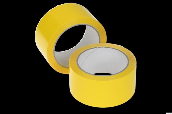 Klebeband 50 mm x 66 lfm. - PP gelb | VE 36 Stück