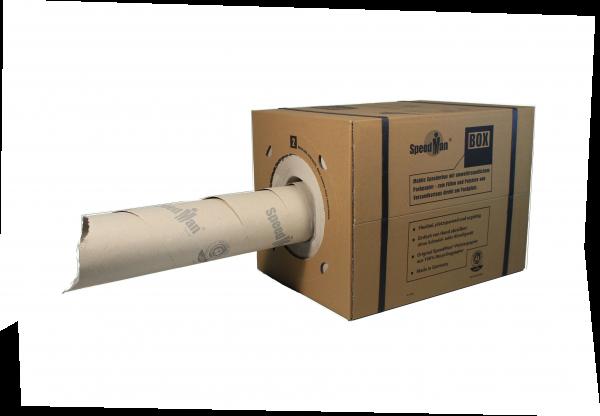 1 SpeedMan Box im Spenderkarton ca. 1,5m³ Füllmaterial