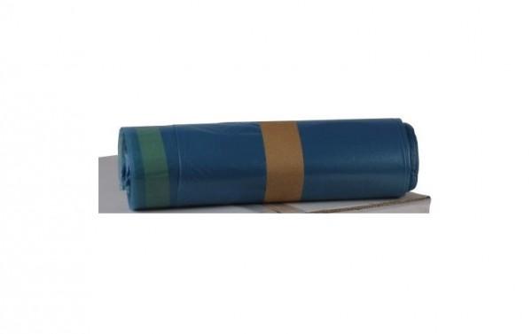 LDPE Zugbandsäcke 700x1000, blau - 250 Stück