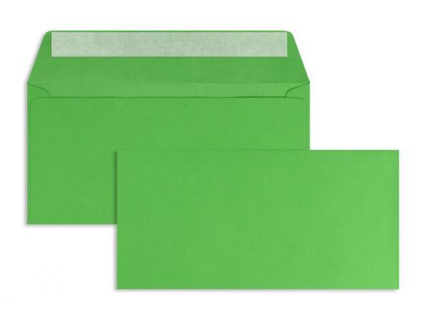 Briefumschlag 110 x 220 mm (DIN Lang) - 100 Stück / VE - Grün