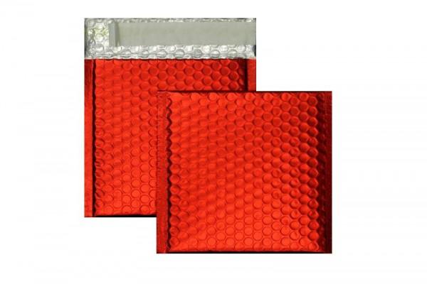 Luftpolstertaschen rot matt - 170 x 185 mm - 10 Stück