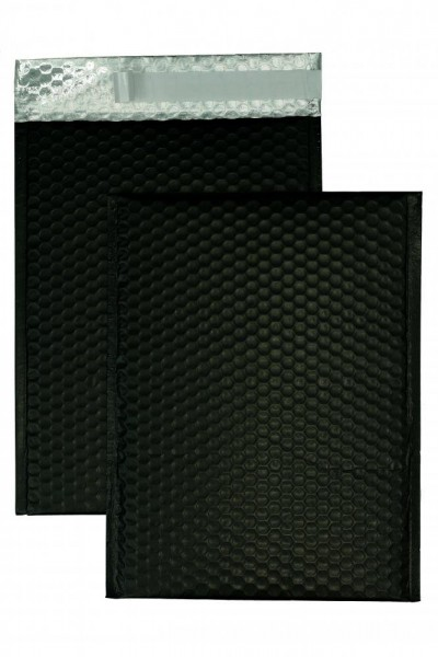 Luftpolstertaschen schwarz matt - 340 x 460 mm - 10 Stück