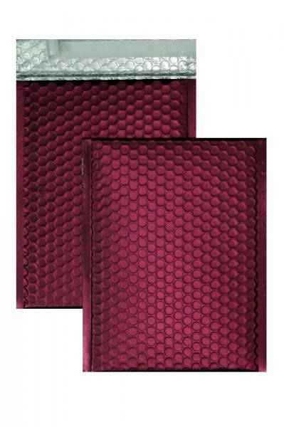 Luftpolstertaschen bordeaux 200 x 250 mm - 10 Stück