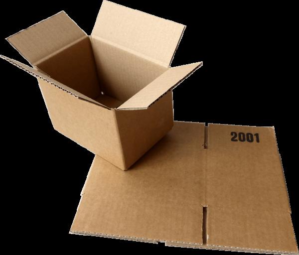 Faltkiste 150 x 100 x 100 mm - Hermes S-Paket/DHL-Päckchen