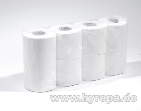 Toilettenpapier 3-lagig, 2112 Rollen a 230 Blatt hochweiß - 1 Palette
