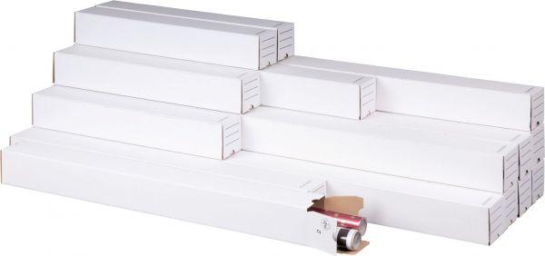1100 x 75 x 75 mm - PlanBox A0 weiß