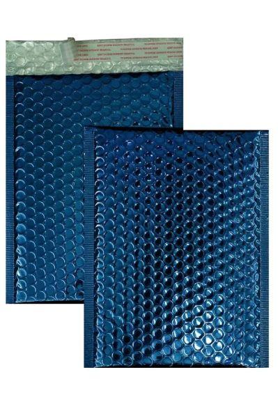 Luftpolstertaschen blau glänzend 250 x 334 mm DIN A4 - 10 Stück