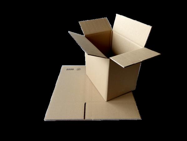 Faltkiste 305 x 215 x 290 mm - DIN A4 Größe - DHL-Paket/Hermes M