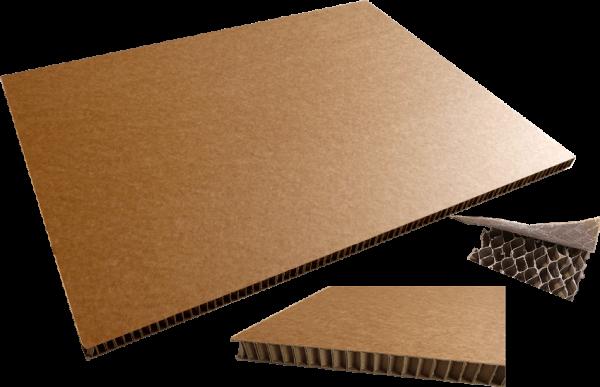 Wabenplatte 800 x 600 x 20 mm - 1/2 Palettenmaß