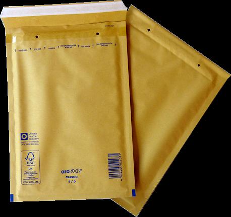 Luftpolstertasche D-4 / 200 x 275 mm - DIN A5 - 100 Stück Arofol