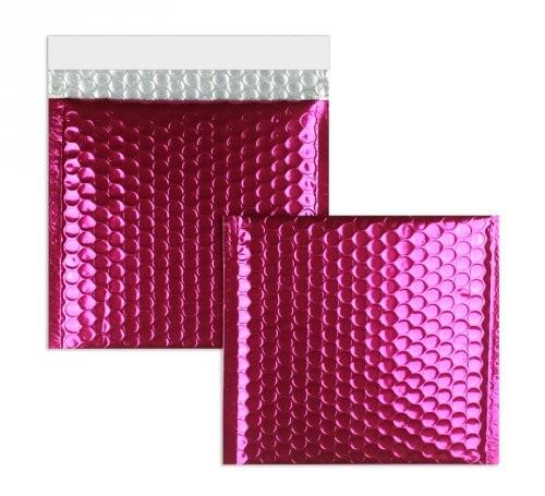 Luftpolstertaschen rosa glänzend 170 x 185 mm - 10 Stück