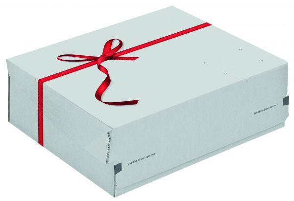CP068.92/2 Geschenkbox small weiß 241 x 166 x 94 mm