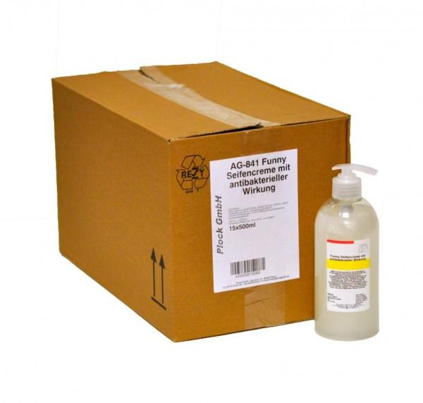 antibakterielle Seife - 15 x 500ml Spender