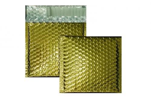 Luftpolstertaschen gold glänzend - 170 x 185 mm - 10 Stück