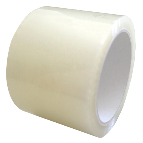 pp klebeband transparent 75mm x 66m extra breit klebeband braun wei transparent. Black Bedroom Furniture Sets. Home Design Ideas