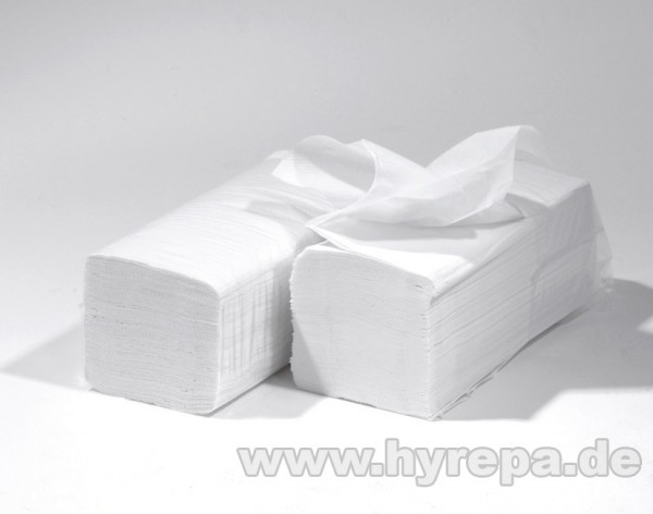 Falthandtuch 2-lagig, 3200 Blatt, hochweiß, supersoft