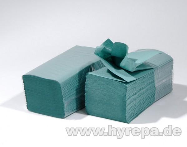 Falthandtuch 1-lagig, 5000 Blatt, grün