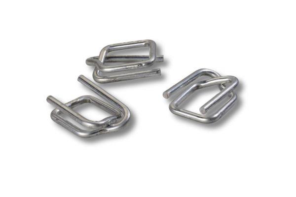 Metallschnallen für PETbänder - 19 mm / 1000 Stück